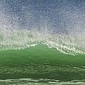 Aqua Wave by Paula Porterfield-Izzo