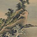 Breaking Waves by Katsushika Hokusai
