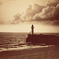 Breakwater At Sete by Gustave Le Gray