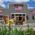 Breckenridge Colorado Usa Downtown And Rocky Mountains by Gregory Ballos