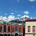 Breckenridge Colorado Downtown Mountain Skyline Panorama  by Gregory Ballos