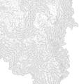 Breckenridge Mountain Art Print Contour Map Of Breckenridge Moun by Jurq Studio