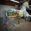 Breeders Cup Fiberglass Horse Right Back by Tish Wynne