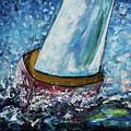 Breeze On Sails -2  by OLena Art Brand