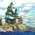 Breezy Day Georgian Bay by Paul Gauthier