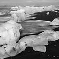 Brethamerkursandur Iceberg Beach Iceland 2319 by Bob Neiman