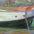 Breton Fisherboat At Paimpol  Bretagne   by Ben Rikken