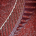 Brick And Stairs by Kami McKeon