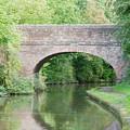 Brick Canal Bridge  by Roy Pedersen