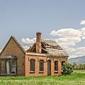Brick Home In June 2017 by Sue Smith
