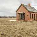 Brick Home In November 2015 by Sue Smith
