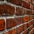 Brick Wall With Perspective by Blake Webster