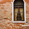 Brick Window by Kathy Schumann