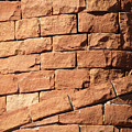 Bricks Spiraling by Laurel Powell