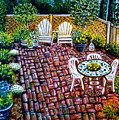 Brickwork by Elizabeth Robinette Tyndall