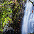 Bridal Veil  Falls 3 by Mitch Shindelbower