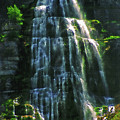 Bridal Veil Falls Canvas 2 by Steve Ohlsen