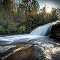 Bridal Veil Falls In Dupont State Forest by Donnie Whitaker