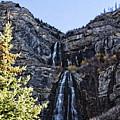 Bridal Veil Falls Provo Utah by Douglas Barnard