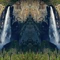 Bridalveil Fall Mirror  by Kyle Hanson