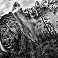 Bridalveil Fall Yosemite Morning by Blake Richards
