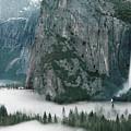 Bridalveil  Falls In Winter by Jim Dohms