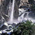 Bridalveil In Winter by Stan and Anne Foster