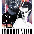 Bride Of Frankenstein 1935 by Sean Parnell