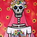 Bridezilla Dia De Los Muertos by Pristine Cartera Turkus