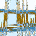 Bridge Abstract by Lenore Senior