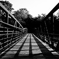Bridge And Tunnel - B/w by Pete Mikelson