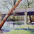 Bridge At Camp Verde by Marsha Reeves