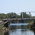 Bridge At Chub by Victoria C Clarke