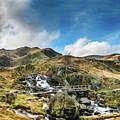 Bridge At Snowdonia by Adrian Evans