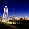 Bridge At Sunrise by David Clanton