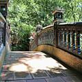 Bridge Crossing Tam Coc Vietnam by Chuck Kuhn
