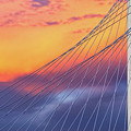 Bridge Detail At Sunrise by Imagery by Charly