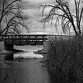 Bridge In Black And White by KG Photography