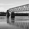 Bridge In Black And White by Tim Bartley