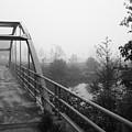Bridge In Fog  by Karen  Summers