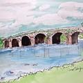 Bridge In Ireland by Carol Veiga