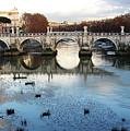 Bridge In Rome by Brett Winn
