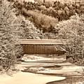 Bridge In Sepia by Deborah Benoit
