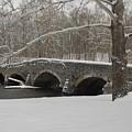 Bridge In Winter by Don Van Fleet