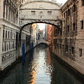 Bridge Of Sighs In Venice In Morning Light by Michael Henderson