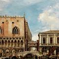 Bridge Of Sighs, Venice by Edward William Cooke