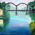Bridge On The River Adda by Lia  Marsman