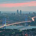 Bridge Over Bosphrous by Salvator Barki