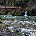Bridge Over Hackleman Creek by Belinda Greb