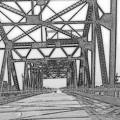 Bridge Over Mississippi by Lesli Sherwin
